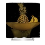 Bowl Of Fruit 1 Shower Curtain