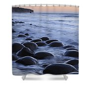 Bowling Ball Beach Shower Curtain