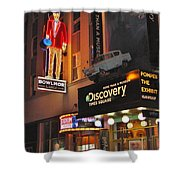 Bowlmor Lanes At Times Square Shower Curtain