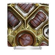 Box Of Chocolates Shower Curtain