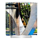 Boyd Plaza Fountain II Shower Curtain