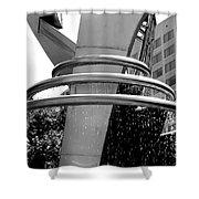 Boyd Plaza Fountain IIi Shower Curtain