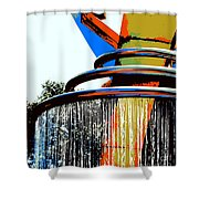 Boyd Plaza Fountain Shower Curtain