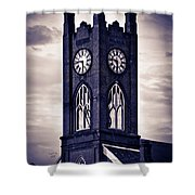 Boyertown Clock Tower Shower Curtain