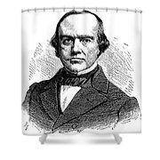 B.r. Curtis (1808-1874) Shower Curtain