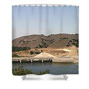Bradbury Dam Shower Curtain