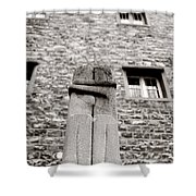 Brancusi The Kiss  Shower Curtain