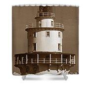Brandywine Shoal Lighthouse Shower Curtain