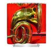 Brass Band Shower Curtain