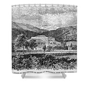 Brazil: Emperors Palace Shower Curtain
