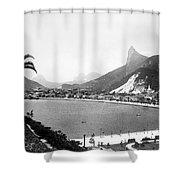 Brazil: Rio De Janeiro Shower Curtain