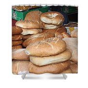Bread Shower Curtain