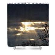 Break In The Clouds Shower Curtain