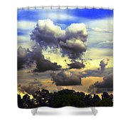 Break In The Clouds Shower Curtain