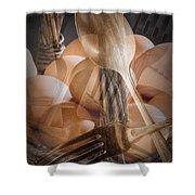 Breakfast Dream Shower Curtain