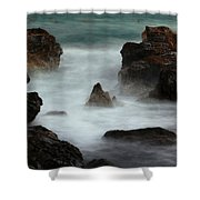Breaking Tides Shower Curtain