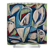 Breath Of Light Shower Curtain