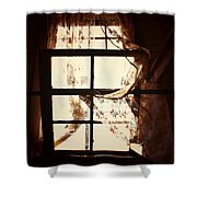 Breath Of Pain Shower Curtain