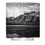 Breeze Valley  Shower Curtain