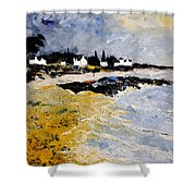 Bretagne Sascape Shower Curtain