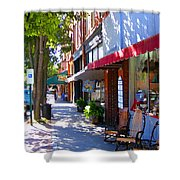 Brevard Downtown Filtered Shower Curtain