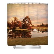 Brian's Bridge Shower Curtain by Jai Johnson