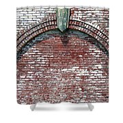 Brick Arch Shower Curtain
