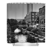 Bricktown Canal II Shower Curtain