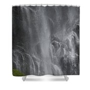 Bridal Veil Falls, Lowe River Shower Curtain