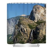 Bridal Veil In The Distance Shower Curtain