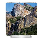 Bride At Yosemite Shower Curtain