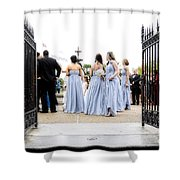 Bridesmaids Shower Curtain