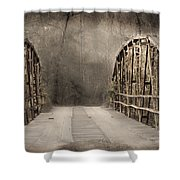 Bridge After Lightroom Shower Curtain
