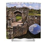 Bridge At Leeds Castle Shower Curtain