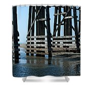 Bridge Detail Shower Curtain