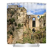 Bridge In Ronda Shower Curtain