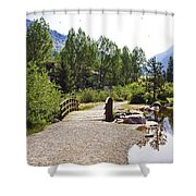 Bridge In Vail - Colorado Shower Curtain