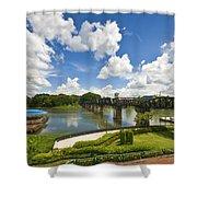 Bridge On The River Kwai Thailand Shower Curtain