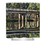 Bridge Over Ovens River 2 Shower Curtain