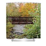 Bridge Over River Shower Curtain