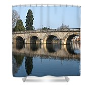 Bridge Over The River Thames Shower Curtain