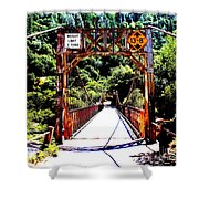 Bridge To The Wild Side Shower Curtain