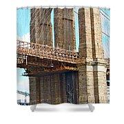 Bridge View One Shower Curtain