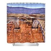 Bridges At Lees Ferry Shower Curtain