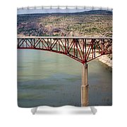 Bridging The Canyon Shower Curtain