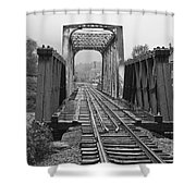 Bridging The River Shower Curtain