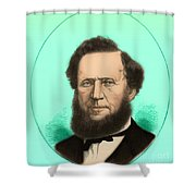 Brigham Young Shower Curtain