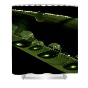 Bright Drops Shower Curtain