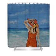 Bright Outlook Shower Curtain