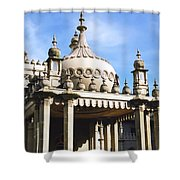 Brighton Pavilion Shower Curtain